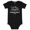 LOVEYS ARE BORN IN FEBRUARY - T-Shirt