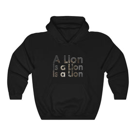 A LION IS A LION PULLOVER HOODIE