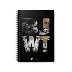 BJWT SPIRAL NOTEBOOK - RULED LINE
