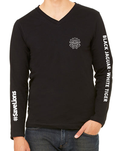 Lion - T-Shirt -  Long Sleeve