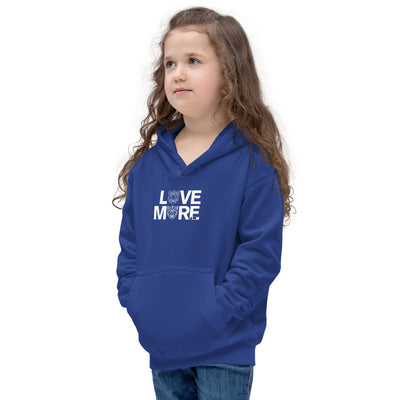 LOVE MORE - BLACK LABEL - Unisex Kids Hoodie