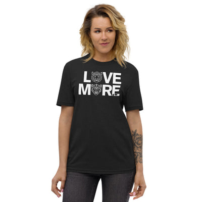 LOVE MORE - BLACK LABEL Unisex recycled t-shirt