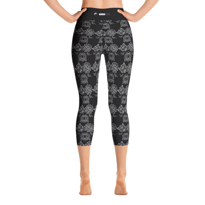 MINIMAL BJWT ART MOZAIC - BLACK LABEL - Yoga Capri Leggings