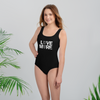 LOVE MORE - BLACK LABEL - All-Over Print Youth Swimsuit