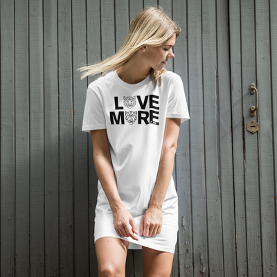 LOVE MORE - BLACK LABEL - Organic cotton t-shirt dress