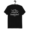 LOVEYS ARE BORN IN FEBRUARY - Unisex Organic Cotton T-Shirt