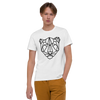 MINIMAL JAGUAR -WHYTE COLLECTION - Unisex Organic Cotton T-Shirt