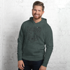 MINIMAL TIGER - WHYTE COLLECTION - white / grey Unisex hoodie