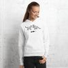 MINIMAL CUBS - WHYTE COLLECTION -  White / grey Unisex hoodie
