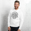 MINIMAL LION - WHYTE COLLECTION - white / grey Unisex hoodie