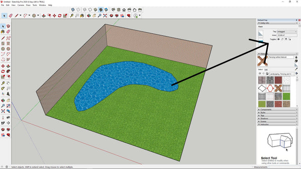 Using CAD to estimate pond volume