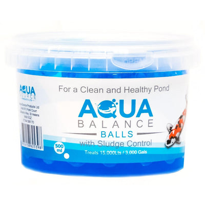 Aqua Source Balance Balls Filter Start Koi Pond Kitsu Koi