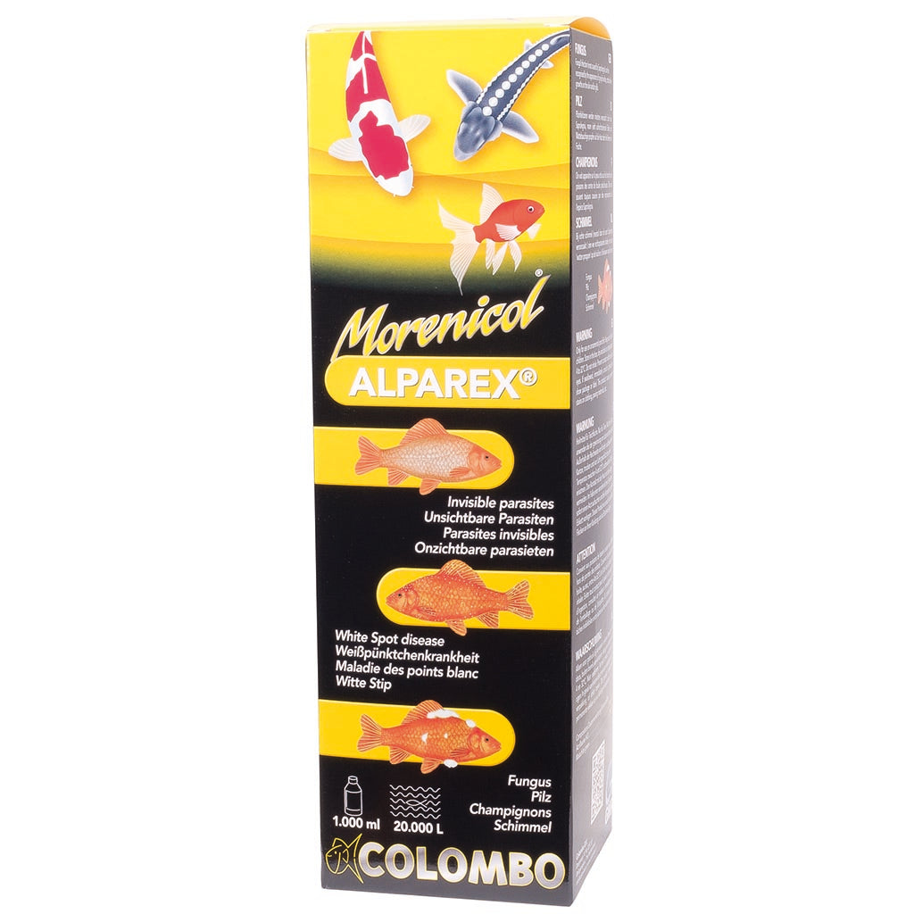 Colombo Morenicol Alparex Koi Anti Parasite Treatment Kitsu Koi