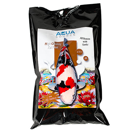 Aqua Source All Season Garlic 3kg Koi Food