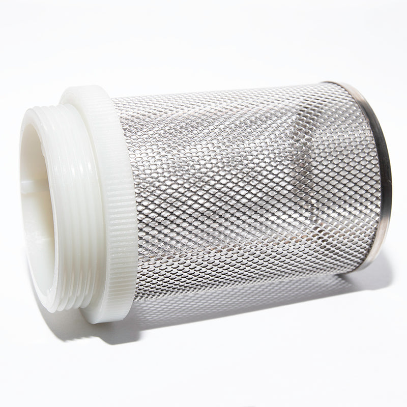Fitler grid cage pipe diy koi pond filter threaded