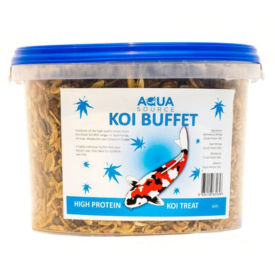 Aqua Source Koi Buffet Food Treats