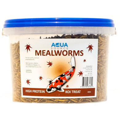 Aqua Source Meal Worms Koi Food Treats