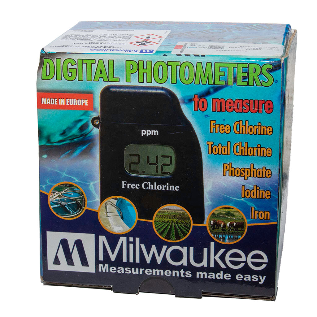 Milwaukee Total Chlorine Photometer MW-11