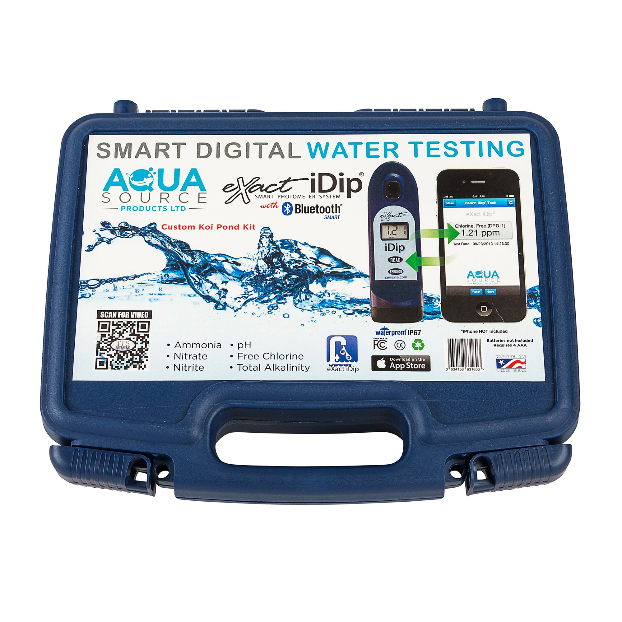 eXact iDip - Digital Water Testing - Smart Photometer - Digital Water testing for koi ponds