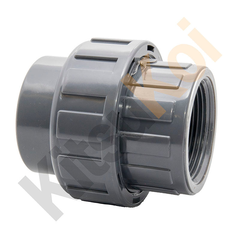 PVC Pressure female union for koi pond filter plumbing