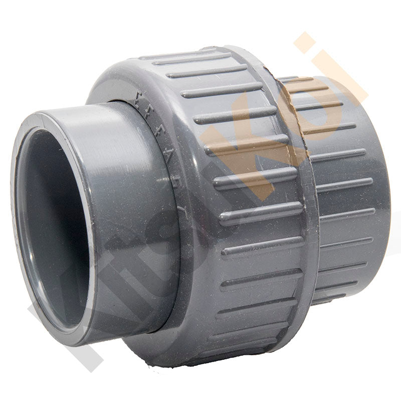 PVC Pressure female plain union for koi pond filter plumbing