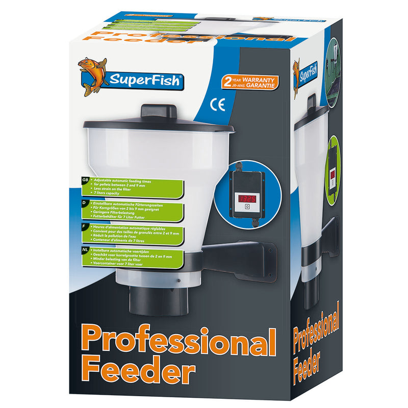 aqua automatic feeders p koi feeder forte