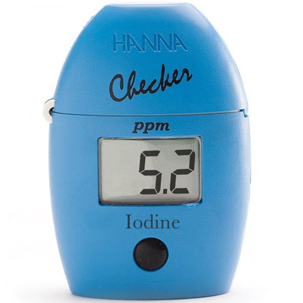 Iodine Checker® HC: 00.0 to 12.5 ppm (mg/L)