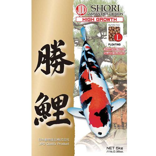 JPD Koi Food - Shori - Growth - Kitsu Koi