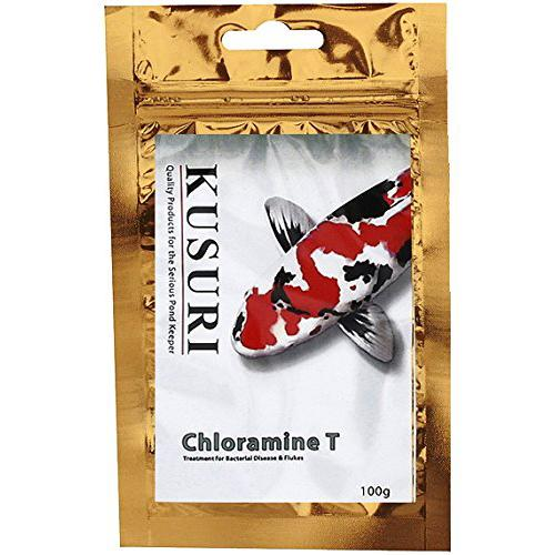Kusuri Chloramine T - Treatment for koi and pond fish