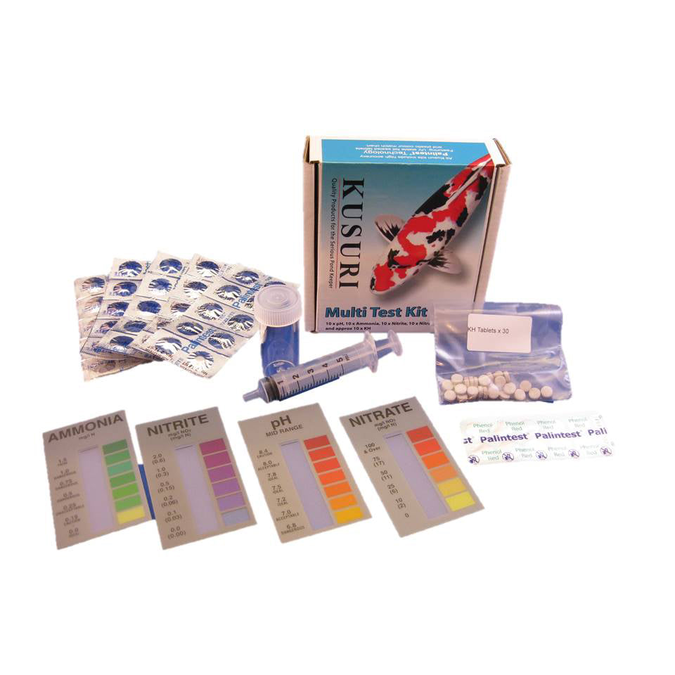 Kusuri Multi Test Kit for koi and garden ponds