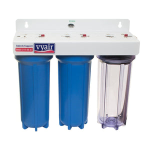 "3 stage 10"" Pond Purifier/Dechlorinator"