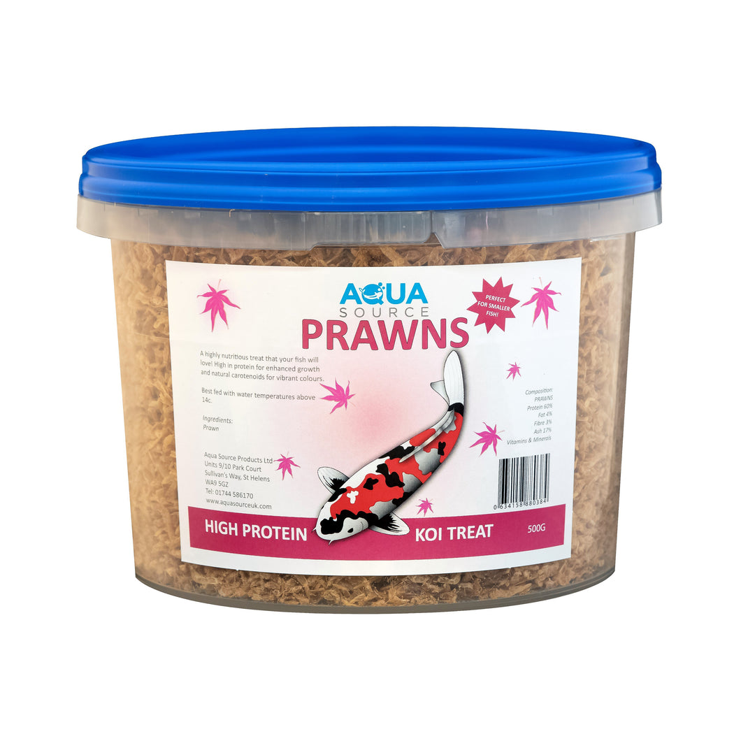 Aqua Source Prawns Koi Food Treats