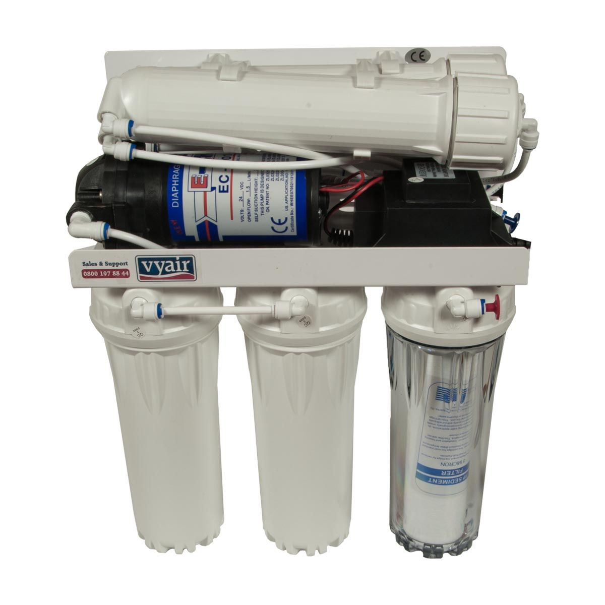 200gpd Reverse Osmosis Water Filter System - RO-200 for  from Kitsu Koi