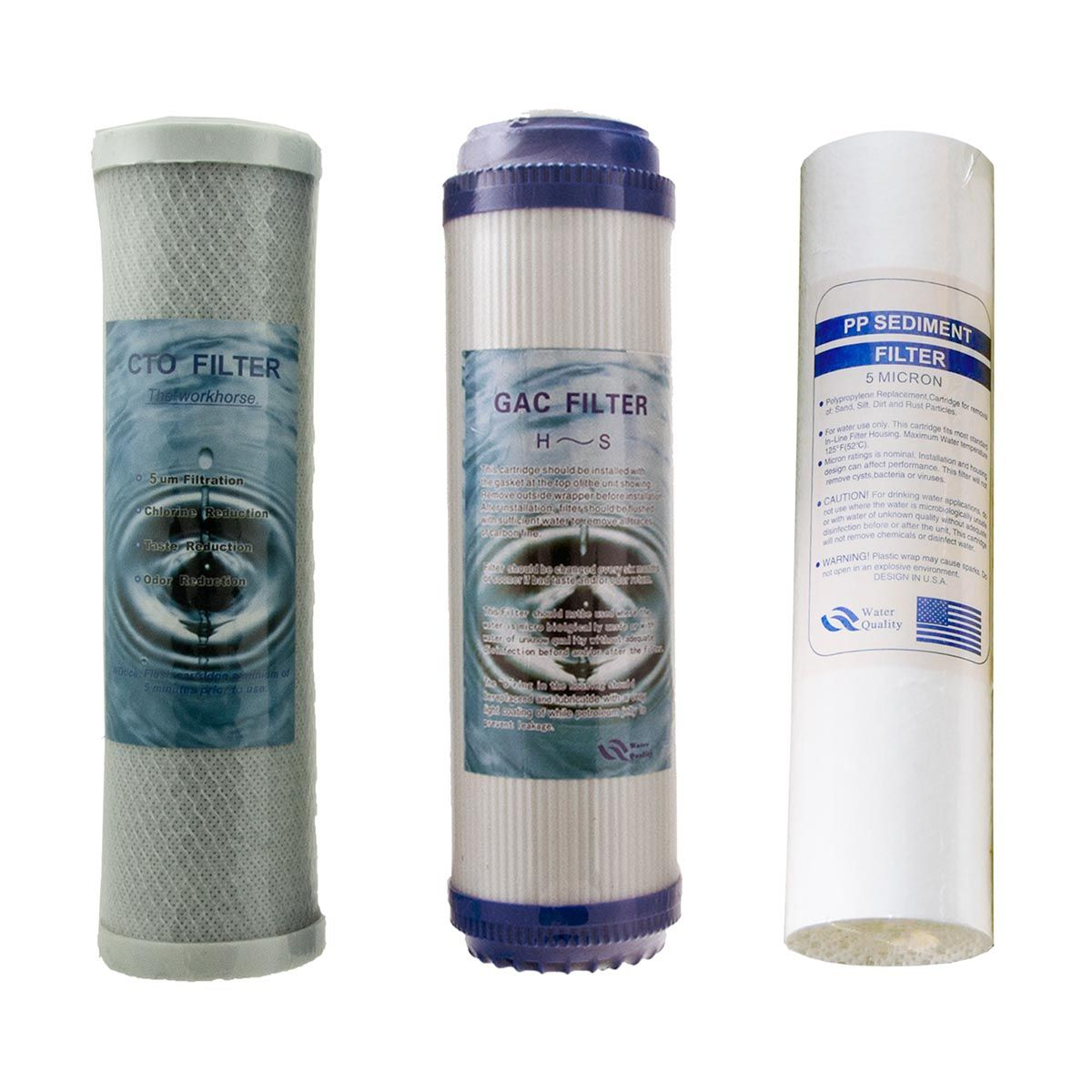 Replacement Purifier Cartridges (3 Stage Purifiers)