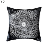Fashion Pattern Print Pillow Case Home Decoration Bed Sofa Throw Cushion Cover