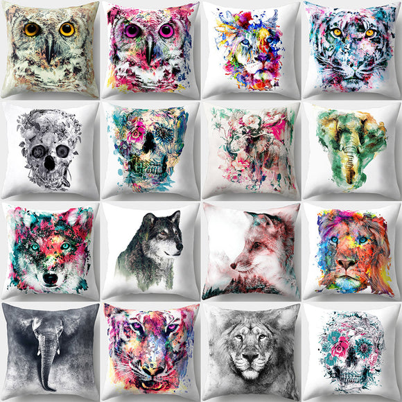 Animal Printing Throw Pillow Cover's