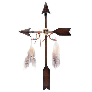 Arrow Cross Metal Wall Decor - spirited-gypsy.myshopify.com