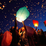 Chinese Flying Wish Lights 10 pack Lantern