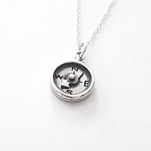 Compass Necklace Jewelry