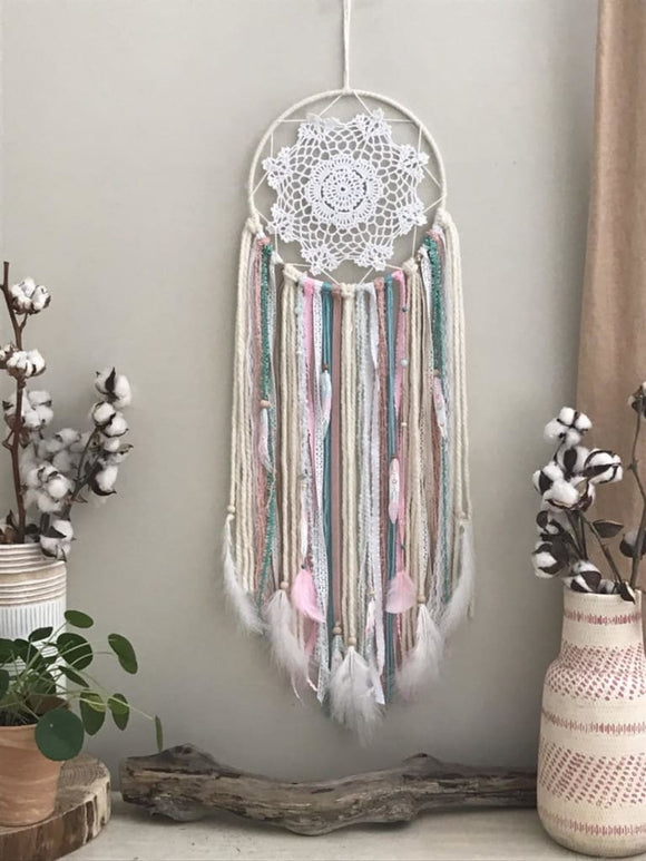 Custom Bohemian Style Medium Dream Catcher - spirited-gypsy.myshopify.com