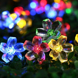 Flower and Bug LED String Lights Multicolor Flower String Lights