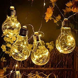 Glass Globe String Lights - spirited-gypsy.myshopify.com