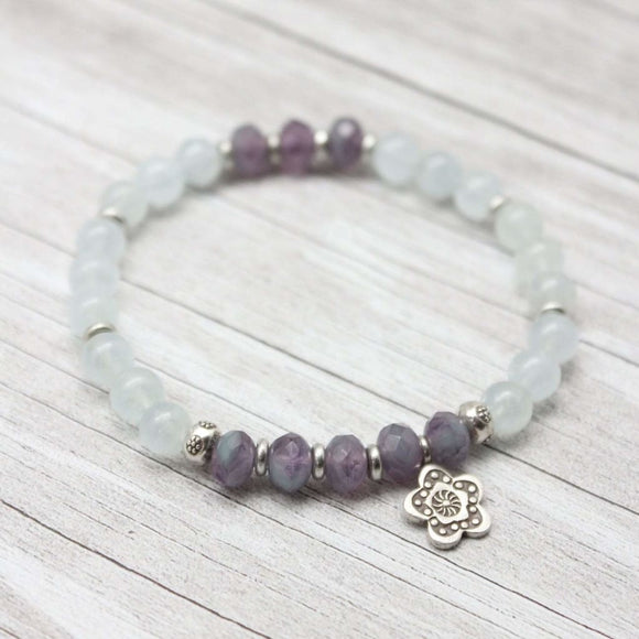 Happiness Aquamarine Bracelet Bracelet