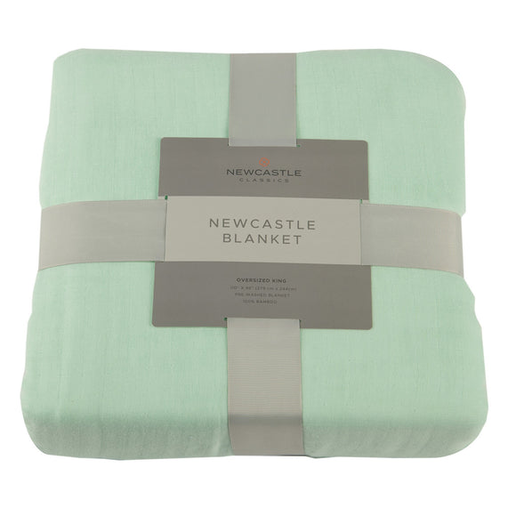 Bamboo Blanket Oversized Twin - Seafoam Green