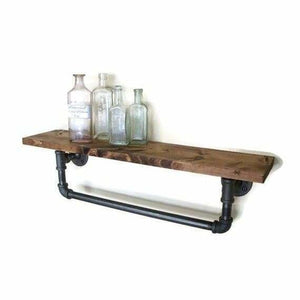 Rustic Pipe Towel Bars for Bathroom or Kitchen - spirited-gypsy.myshopify.com