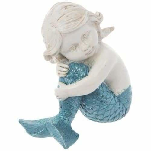 Sitting Child Mermaid - spirited-gypsy.myshopify.com
