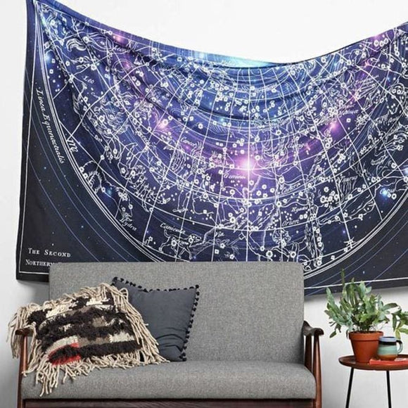 Sky  Constellation Tapestry - spirited-gypsy.myshopify.com