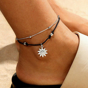 Sun Anklet Jewelry