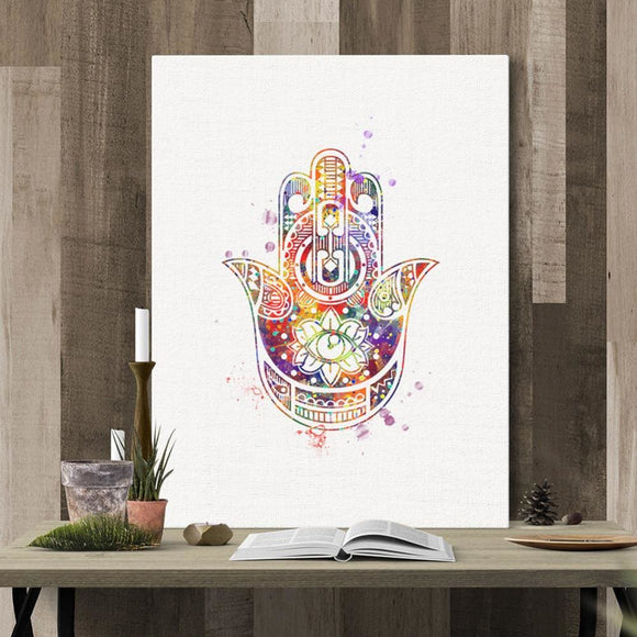 Zen Canvas Watercolor Paintings - spirited-gypsy.myshopify.com