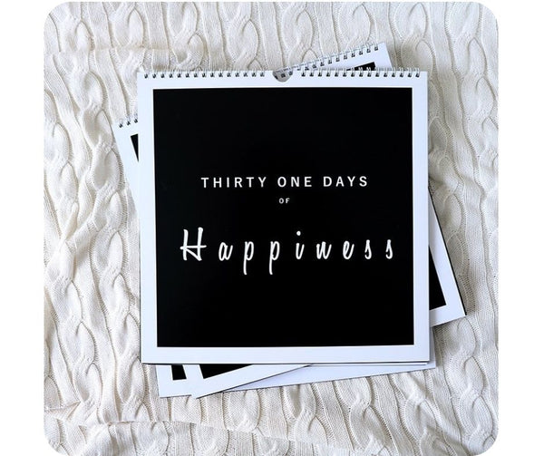 Thirty one days of Happiness